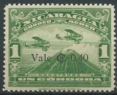 NICARAGUA   Aérien   - Yvert N° 137 * -  Ah30520 - Nicaragua