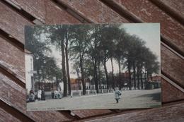 CPA - Dour - La Place Verte - Tram - Dour