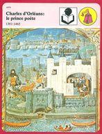 Charles D'Orléans: Le Prince Poète. Moyen Age. Charles VII. Guerre De Cent Ans. Art. - History
