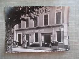 "CPA 83 SAINT TROPEZ HOTEL ""LA MEDITERRANEE"" - Saint-Tropez"