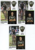Cyclisme, 3 Cartes Team Nesta, 2018-2019 - Cyclisme