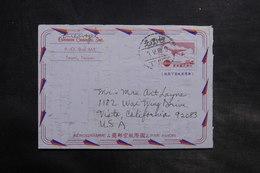 TAIWAN - Aérogramme De Taipei Pour Les Etats Unis En 1968 - L 34817 - Postal Stationery