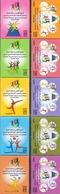 2008 Kuwait Women 's Sports In The Gulf States Complete Set 10 Values MNH - Kuwait
