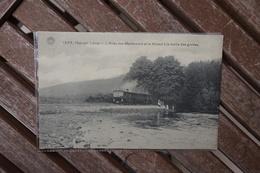 CPA - Han-sur-Lesse - L'Allée Des Maronniers Et Le Vicinal à La Sortie Des Grottes - Dinant