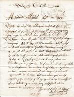 1811 - GRAND FILIGRANE DE L'EMPEREUR - LE PUY - Lettre Pour MICHEL Négociant à AIX - Documents Historiques