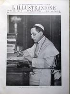 L'Illustrazione Italiana 19 Agosto 1917 WW1 Nazario Sauro Fiandre Cordevole Papa - Guerra 1914-18