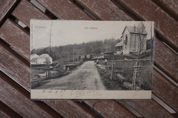 CPA - Saint Hubert - Les Moulins - Tramway - Saint-Hubert