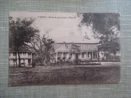 CPA TAHITI HOTEL DU GOUVERNEUR A PAPEETE - Polynésie Française