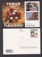 20.- PORTUGAL 2019 POSTAL STATIONERY - TABULEIROS FEST - TOMAR PORTUGAL - Enteros Postales