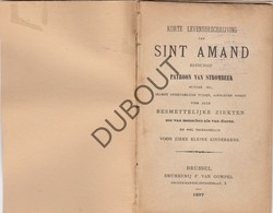 STROMBEEK Levensbeschrijving Sint Amand - Brussel 1897 - Van Gompel (N752) - Oud