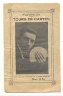 """Petit Livret  """" TOURS DE CARTES """", """" TOURS DE DES """"  Magie, Prestidigitation,..Gaston Corbier Dit """"RIDERSON """".(fr81) - Cartes à Jouer"""