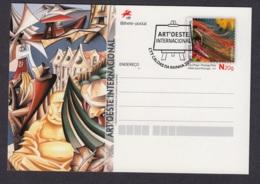 22.- PORTUGAL 2019 POSTAL STATIONERY - WEST ART INTERNATIONAL - Enteros Postales