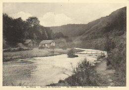 """Nadrin / Le Hérou - Moulin De Spitanche   """" Lavandières Au Travail ! """" - Houffalize"""