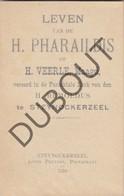 STEENOKKERZEEL H. Pharaildis Of H. Veerle - Gedrukt Steynockerzeel 1910 Zeer Zeldzaam  (N749) - Antiguos