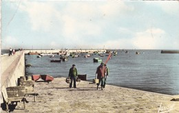 85. ILE DE NOIRMOUTIER.  L'HERBAUDIERE. RETOUR DE PÈCHE. ANNÉES 50 - Ile De Noirmoutier