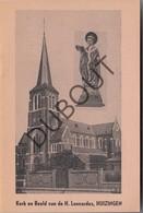 HUIZINGEN Heilige Leonardus 1953  (N754) - Oud
