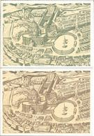 VATICANO 2 ENTERO POSTAL 1661 ANTONIO TEMPESTA ARQUITECTURA - Monumentos