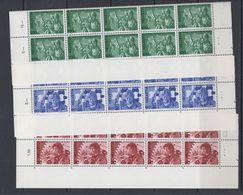 Switzerland Dienstmarken 1975 B.I.T. 3v 10x ** Mnh (F7894) - Dienstzegels