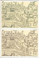 VATICANO 2 ENTERO POSTAL 1493 SAN PIETRO Y PALAZZO VATICANO - Monumentos