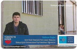 Turkey - TT (chip) - Turkiye'ye Deger Hikayeler - C-286 - Daham Özgel, 4₤, 2011, 50.000ex, Used - Turkey