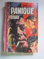 PANIQUE N° 2 - CYCLOPS Le Spirite Jeff Cobb - Mike Nomad (abîmé) - Formatos Pequeños