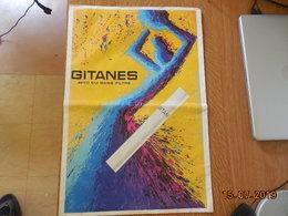 Affiche Publicitaire Pour Les Cigarettes Gitanes - Objets Publicitaires
