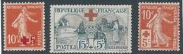 CZ-60: FRANCE:lot Avec  N°146**-155**GNO-147** (défauts) - Ungebraucht