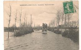 Rochefort Sur Loire  -  Diligence -  Inondation - Route De La Gare -  CPA° - France