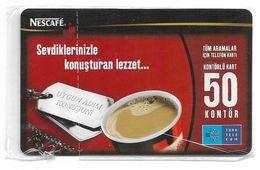 Turkey - TT (chip) - Nescafé - C-275 - 2011, 50U, 50.000ex, NSB - Turkey