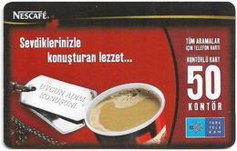 Turkey - TT (chip) - Nescafé - C-275 - 2011, 50U, 50.000ex, Used - Turkey