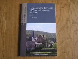 CARNETS DU PATRIMOINE N° 88 YVOIR Régionalisme Meuse Bocq Forges Poilvache Industrie Brasserie Purnode Evrehailles - Culture