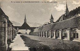 Grande Chartreuse    Cour Du Cloitre - Francia