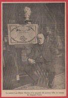 Le Peintre Luc Olivier Merson Et La Maquette Du Nouveau Billet De Banque De Cinquante Francs. 1909. - Vieux Papiers