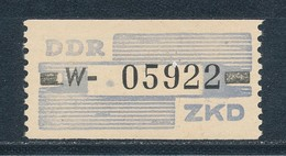 DDR Dienstmarken B 26 ** Kennbuchstabe W Mi. 130,- - Servizio