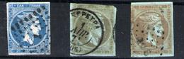 Grecia Nº 21/22 Y 22B. Año Nº 1863/68 - 1861-86 Grande Hermes