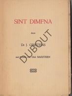 GEEL/GHEEL Sint Dimfna - J. Grietens - 4 Etsen Dirk Baksteen  (N755) - Oud