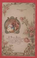 Image Pieuse - 19 Iem -  SANTINO - Holly Card - Boumard Et Fils - Paris - Magnifique - Imágenes Religiosas