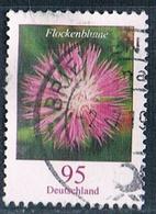 2019  Blumenserie (Flockenblume) Gezähnt - Oblitérés