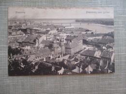 CPA SLOVAQUIE POSZONY PRESSBURG VOM SCHLEB - Slovakia