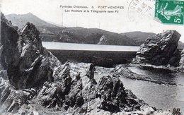 PORT VENDRES  Les Rochers Et La TSF - Port Vendres