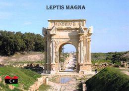 1 AK Libyen * Severischer Triumphbogenin In Leptis Magna - Antike Stadt Der Römer - Seit 1982 UNESCO Weltkulturerbe * - Libië