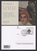 26.- PORTUGAL 2019 POSTAL STATIONERY WRITER AQUILINO RIBEIRO - Enteros Postales