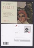 27.- PORTUGAL 2019 POSTAL STATIONERY WRITER AQUILINO RIBEIRO - Enteros Postales