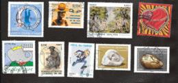LOT DE NEUF TIMBRES OBLITERATION RONDE..ANNEE 2006   TBE..N°3862/3894/3879/3880/3903/3927/3935/3963..SCAN - France