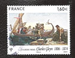 TIMBRES FRANCAIS .  OBLITERATION RONDE. ANNEE 2016..  CHARLES GLEYRE..ARTIST  N°5069..TBE ..SCAN - France