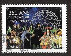 TIMBRES FRANCAIS .  OBLITERATION RONDE. ANNEE 2016.. ACADEMIE DES SCIENCES N°5074..TBE SCAN - Francia