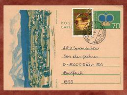 P 81 Krone Abb Mauren + ZF, Eschen Nach Koeln 1985 (76503) - Ganzsachen