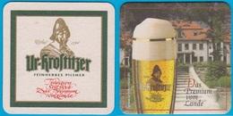 Krostitzer Brauerei Krostitz ( Bd 2355 ) Schmaler Rand - Bierdeckel