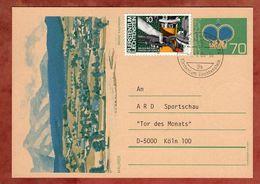 P 81 Krone Abb Mauren + ZF, Triesen Nach Koeln 1986 (76504) - Ganzsachen
