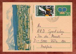 P 81 Krone Abb Mauren + ZF, Triesen Nach Koeln 1986 (76505) - Entiers Postaux